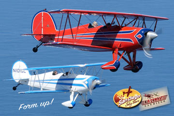 Formation Biplane Coastal Tour