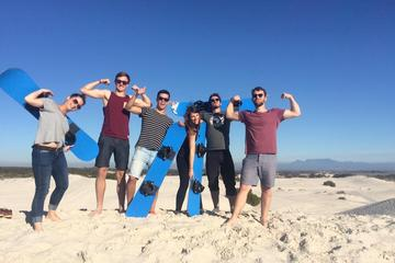 Sandboarding from Cape Town