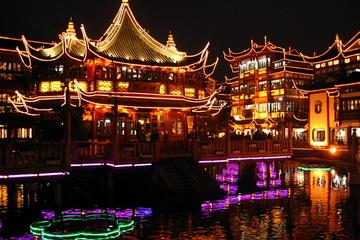 Private Shanghai City Night Tour with Peking Duck Dining Experience