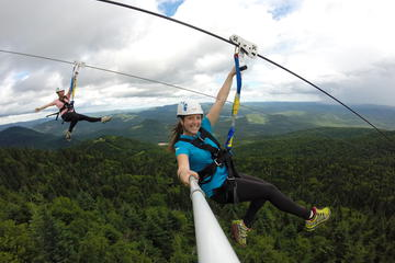 Guided Zipline Tour in Mont Tremblant
