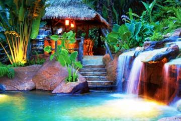 Arenal Volcano and Hot Springs from...