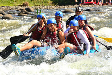 Rafting Sarapiquí Class III - IV from Arenal