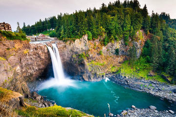 Excursión a las cataratas de Snoqualmie y a una bodega de Seattle