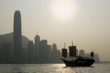 Avant-dîner croisière nocturne sur le port de Hong-Kong