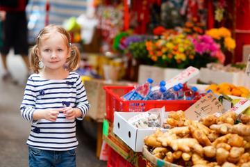 Excursão a pé no Mercado de Hong...