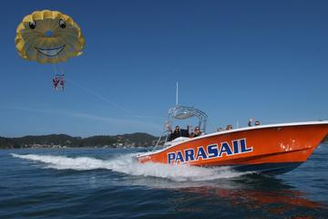 Scenic Boat Ride and Parasailing Experience over the Bay of Islands...