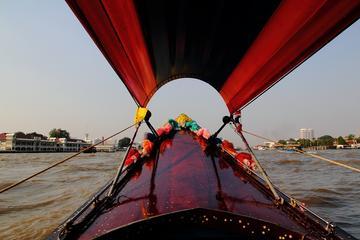 バンコク運河クルーズ - 王宮とワットアルンの…