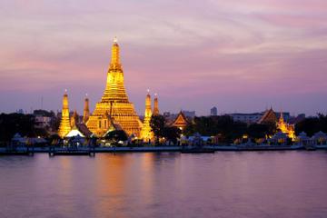 Crucero con cena por el río Chao Phraya de Bangkok