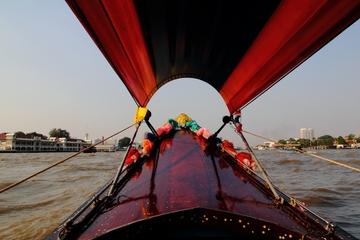 Cruzeiro pelos canais de Bangcoc incluindo Grande Palácio e Wat Arun