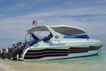 De Krabi aux Îles Phi Phi en hors-bord