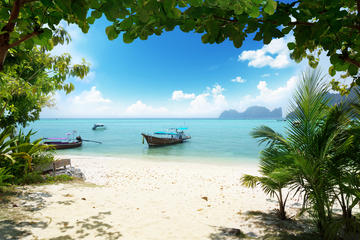 De Phuket com destino às ilhas Phi Phi de balsa expressa incluindo...