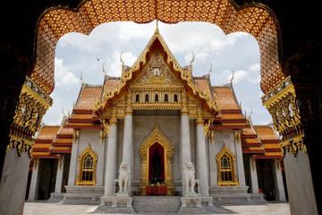 Excursão aos Templos de Bangcoc incluindo o Buda Curvado em Wat Pho