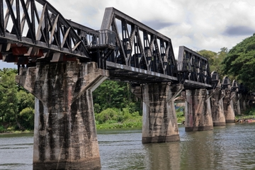 Excursão privada: Ponte da Ferrovia da Morte entre Tailândia e...