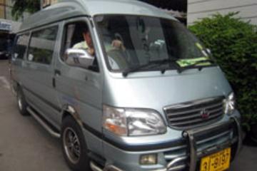 Gemeinsamer Transfer bei der Abreise zum Flughafen Koh Samui