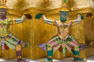 Privat rundtur: Stora palatset och Wat Phra Kaeo i Bangkok