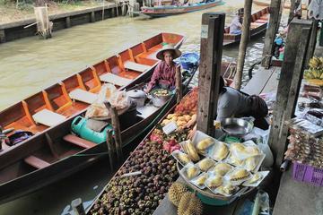 Private Tour: Tagesausflug mit dem Boot ab Bangkok zum schwimmenden...