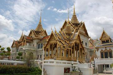Rundtur till Stora palatset och Wat Phra Kaeo i Bangkok