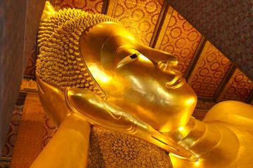Tour privato: templi di Bangkok, tra cui il Buddha reclinato a Wat Pho