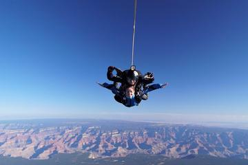 Book Self-drive Grand Canyon Skydiving Experience with Optional Upgrades from Las Vegas on Viator
