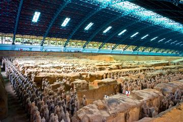 Private Day Tour of Terracotta Warriors, Xi'an Museum, Small Wild Goose Pagoda, City Wall and Muslim Street