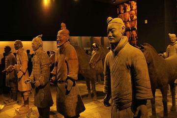 Private day trip of the Terracotta Warrior and Banpo Museum give shuttle service