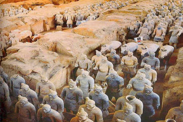 Private day trip of the Terracotta Warriors and the tang dynasty scenic spot