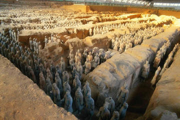 Self-Guided Private Day Tour With Chauffeur Service: Tickets For Terracotta Warriors and Banpo Museum