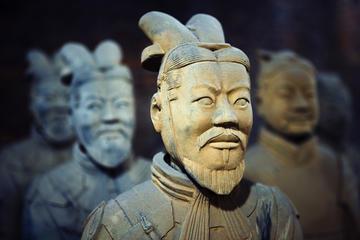 Terracotta Warriors and Big Wild Goose Pagoda in Xian