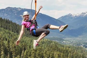 Zipline Abenteuer in Whistler