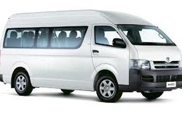 Minivan Airport transfer in Mauritius