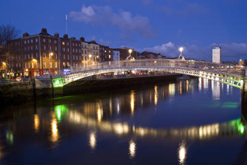 24-Hour Hop-on Hop-off 3 Routes and Dublin Night Combination Bus Tour