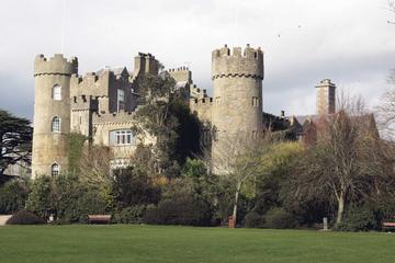 Combination Tour: Malahide Castle and 1-Hour Dublin Night Tour by Bus