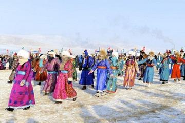 Ice Festival at the Khuvsgul Lake