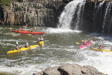 Half-Day Guided Kayak Tour to Haruru Falls