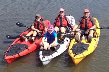Guided Kayak Paddling Tours on...