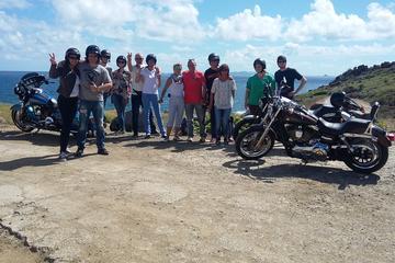 Tour van Sint Maarten op een Harley-Davidson