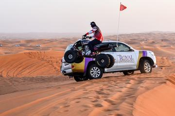 Dubai Desert 4x4 Safari and Quad Ride With Pickup