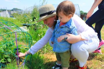 東京で地元の有機栽培農家を訪ねる少人数グループ…