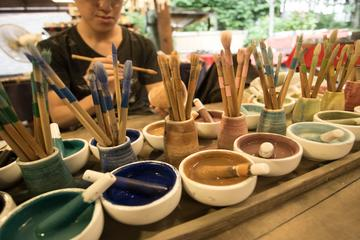 Ceramic Painting and Jinda-ji Temple...