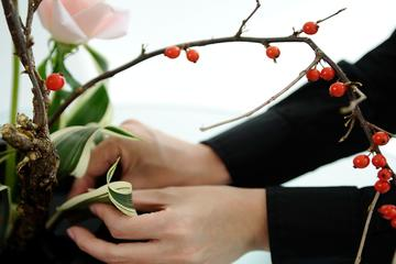 Ikebana Therapy in Kyoto