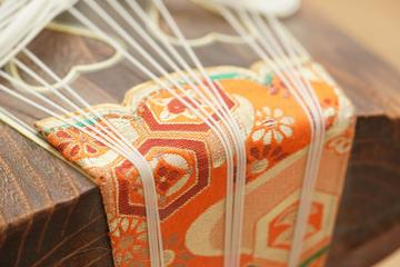 Play Japanese Harp and Enjoy Tea Ceremony