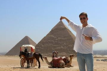 8 hours full day low cost unforgettable Giza pyramids Egyptian museum from Cairo Giza hotel