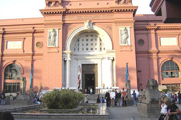 full-day Egyptian museum Coptic Cairo church Islamic Cairo mosque from Cairo or Giza hotels