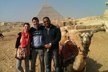 Giza complex pyramids and sphinx tour