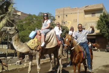 Giza pyramids with shopping tours