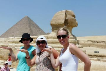 half day  private tour  Giza pyramids and sphinx  with Egyptology 4 hours