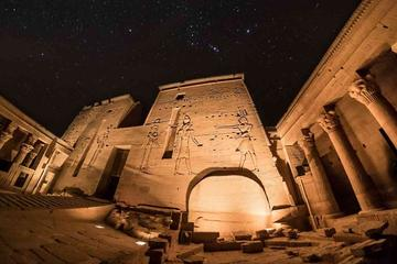 night-private tour to sound and light show at Philae temple in Aswan