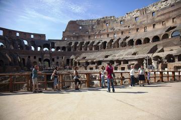 Antikkens Roma og Colosseum: undergrunnskamre og arena