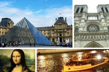 Best of Paris Tour: Skip-the-Line Louvre, Notre Dame and Seine River Cruise