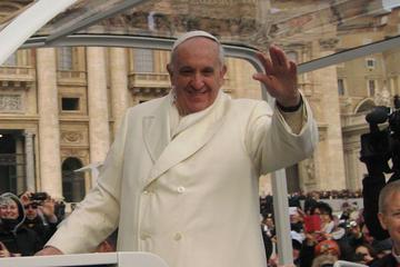 Biglietti per l'udienza papale e presentazione